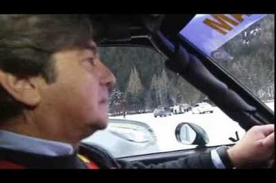 Video: All-new Opel Insignia challenges Opel Ascona 400 rally car in a race on ice