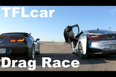 Video: BMW i8 Vs. 2015 Corvette Stingray