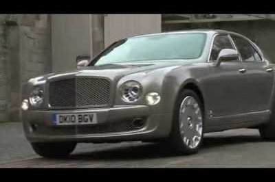 Video: Bentley releases first driving footage of 2011 Mulsanne