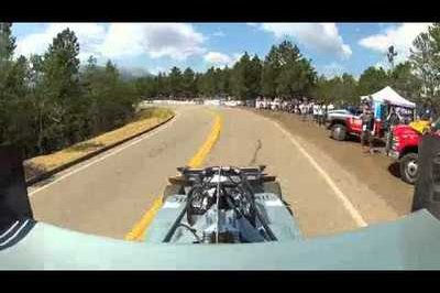 TopSpeed Exclusive: Paul Dallenbach's In-Car View During His Pikes Peak Crash