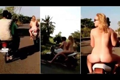 Video: British Student Deported Out of Cambodia After Riding Bike Sans Clothes
