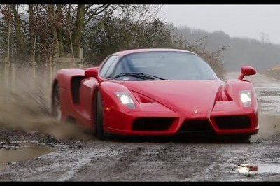 Video: Ferrari Enzo Turned Into a Rally Car