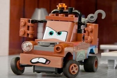 Video: Cars 2 trailer gets LEGO treatment