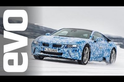 Video: EVO Takes a Ride in the BMW i8
