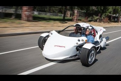 Video: Jay Leno Takes the Campagna T-Rex out for a Spin