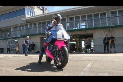 Video: Guy Martin Takes the Britten V1000 For A Spin