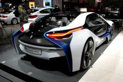Video: BMW Vision EfficientDynamics at the LA Auto Show