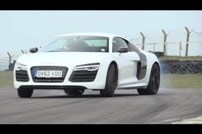 Video: Chris Harris Tests the Audi R8 V10 Plus, Porsche 911 Turbo S and Litchfield GT-R