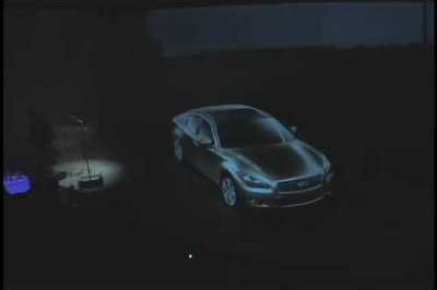 Video: 2011 Infiniti M drives away from its virtual debut at Pebble Beach