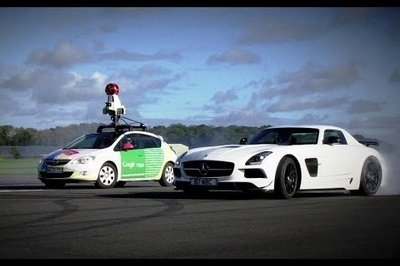 Video: The Stig Versus Google Street View Car