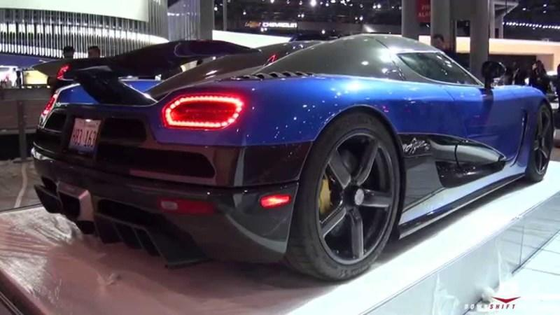 Koenigsegg Agera HH Sounds Amazing: Video