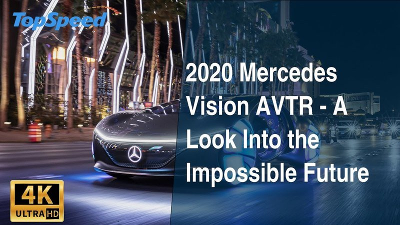 2020 Mercedes Vision AVTR - A Look Into the Impossible Future