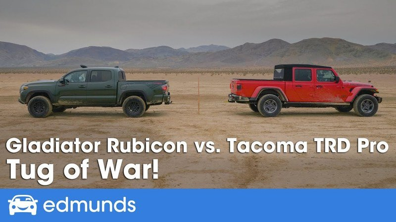 See What Happens When Two Evenly Matched Trucks Go Against Each Other in a Tug-Of-War