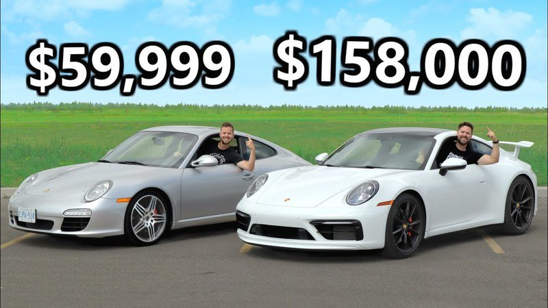 A Decade Apart: Manual 2020 Porsche 911 Carrera S vs. 2010 Porsche 911 Carrera S
