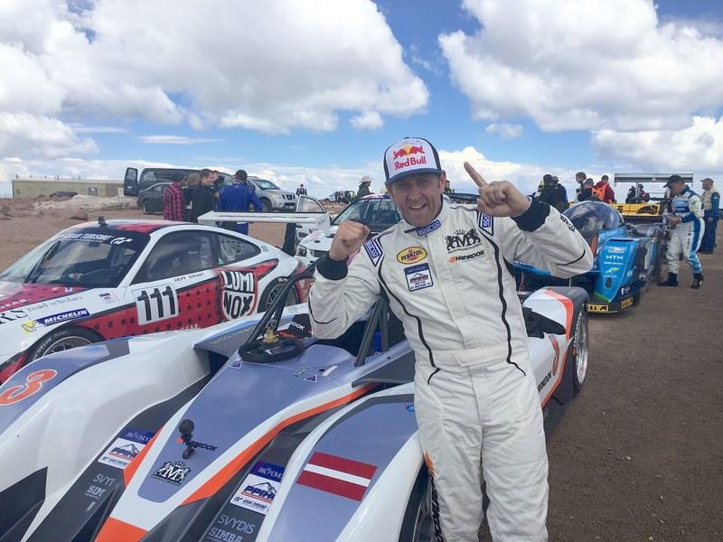 Rhys Millen Sets New EV Record At Pikes Peak Hill Climb