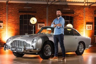 An Aston Martin DB5 With Real James Bond Gadgets Does Exist