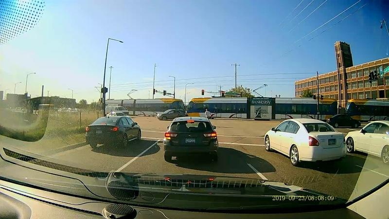 Watch Karma Deal Its Inevitable Wrath As the Driver of a Chevy Equinox Pulls an Illegal U-Turn