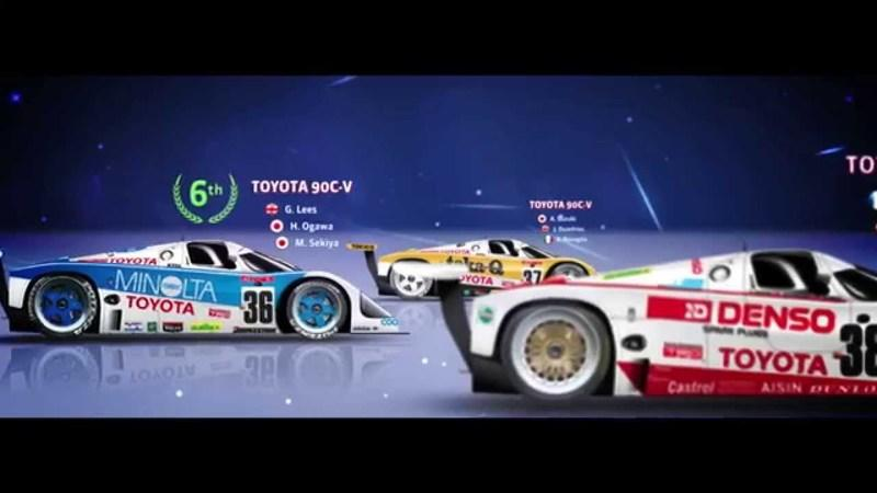 30 Years of Toyota at Le Mans: Video