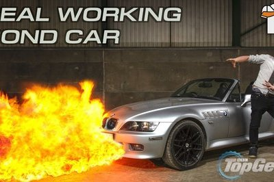 This Guy Built His Own BMW James Bond Car
