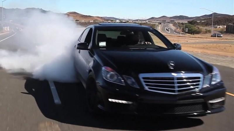 Video: Matt Farah Drives an 850-Horsepower Mercedes E63 AMG
