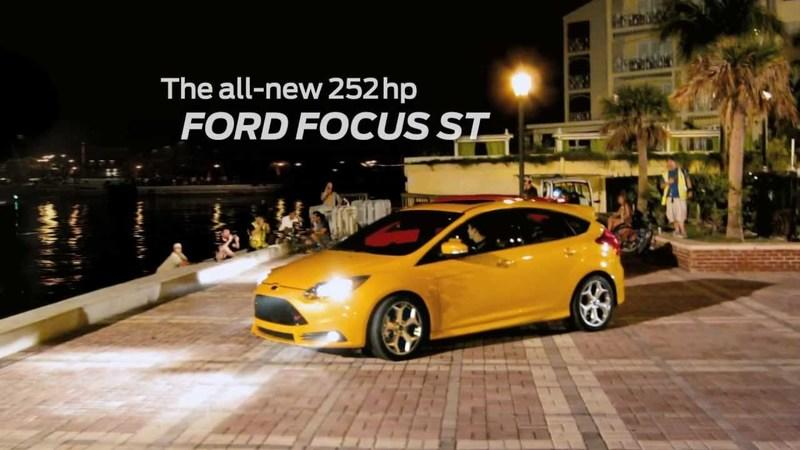 "Ford Turns to ""The People"" to film the Focus ST Commercial"