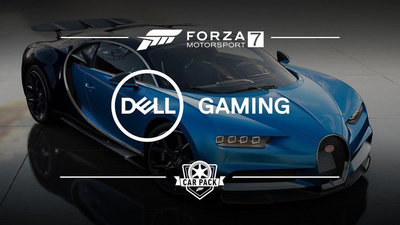 Dell Car Pack Adds Bugatti Chiron, Kia Stinger, Ram Power Wagon and Others to Forza Motorsport 7