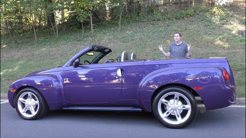 Remember the Crazy Chevy SSR? Doug Does