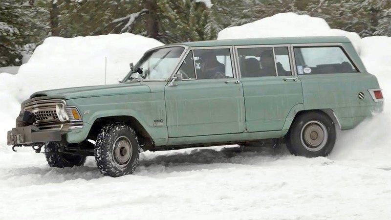 """Dirt Every Day"" Rescues a 1972 Jeep Wagoneer For Snow-covered Road Trip"
