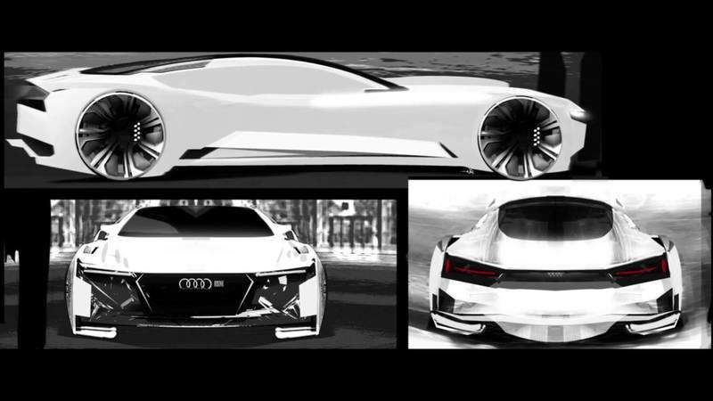 Video: The Ender's Game Audi Quattro Fleet Concept - How it's Made