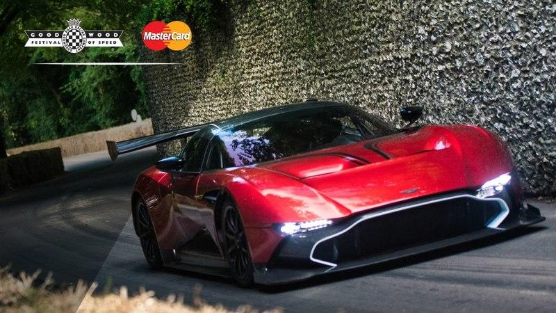Aston Martin Showcases The Vulcan And DB11 At The Goodwood Festival Of Speed: Video
