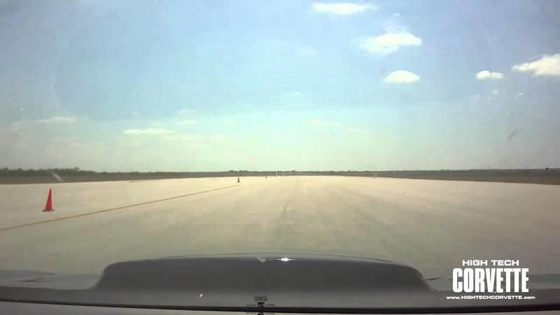 Video: World's Fastest Camaro Hits 253.1mph at Texas Mile