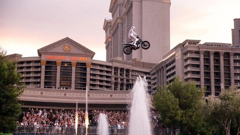 Three of Evel Knievel's most famous stunts recreated by Travis Pastrana