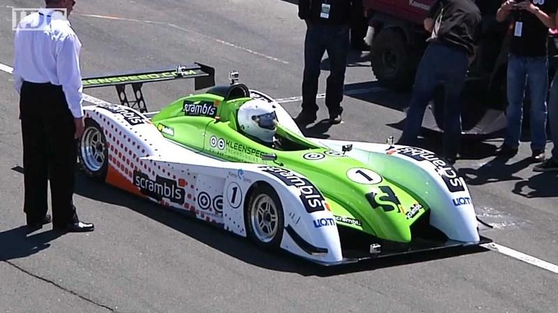 Video: Kleenspeed EV-X11 walks off with electric car record in Sonoma