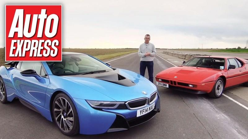 Video: BMW i8 Vs BMW M1