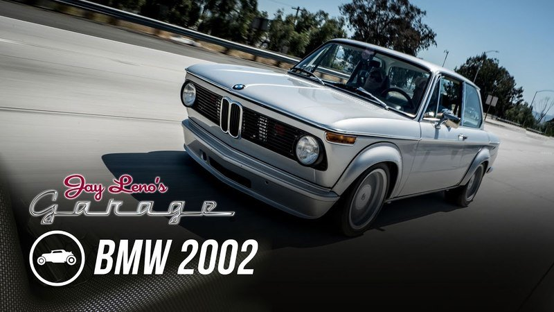 Jay Leno Explores Classic Cool In A Tastefully Modded BMW 2002: Video