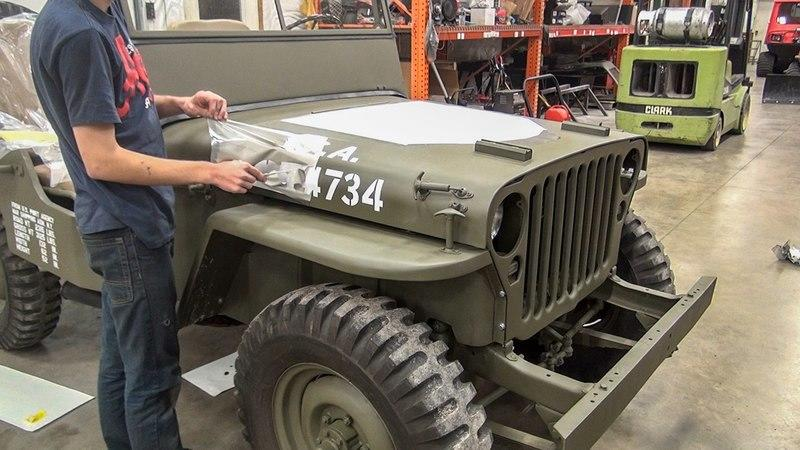 Kid Turns His Ratty Jeep CJ3A into Willys MB: Video