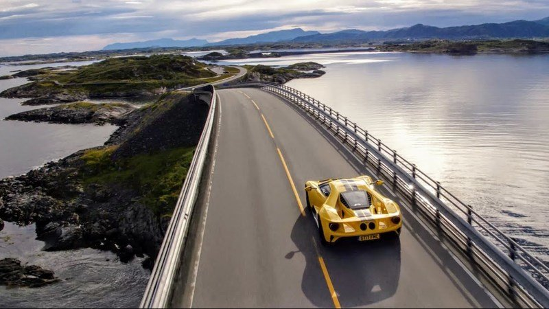 The Ford GT Just Tackled One of The World's Greatest Driving Roads