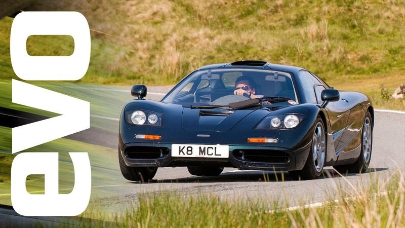 Video: McLaren F1 and Ferrari F40 Takes on its Analogue Rivals
