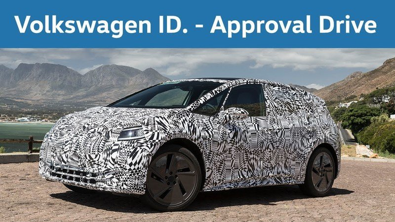 The 2020 Volkswagen ID Visits South Africa as Part of It's Final Testing Phase