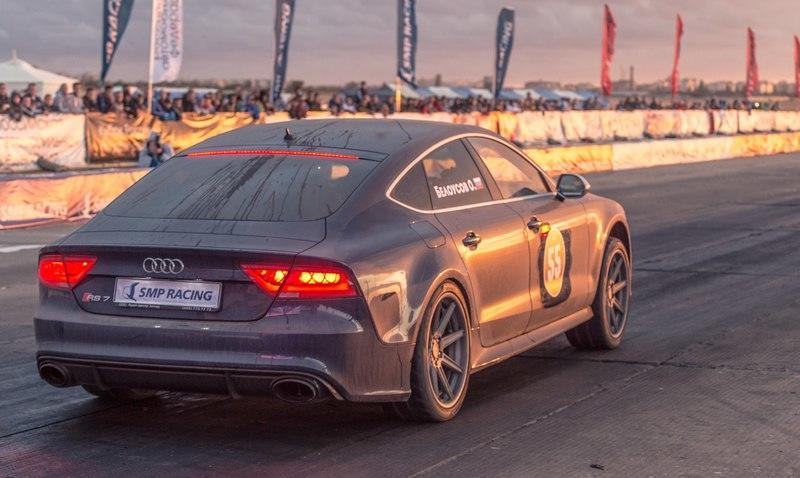Video: Audi RS7 Runs Quarter Mile in 10.1 Seconds