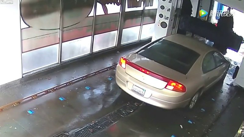 Dummy Destroys a Car Wash Because They Can't Follow Simple Directions