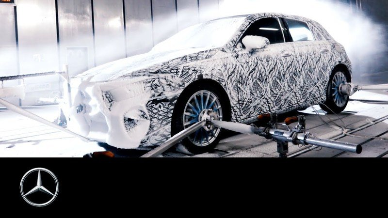Mercedes-Benz Previews New A-Class With Winter Testing: Video