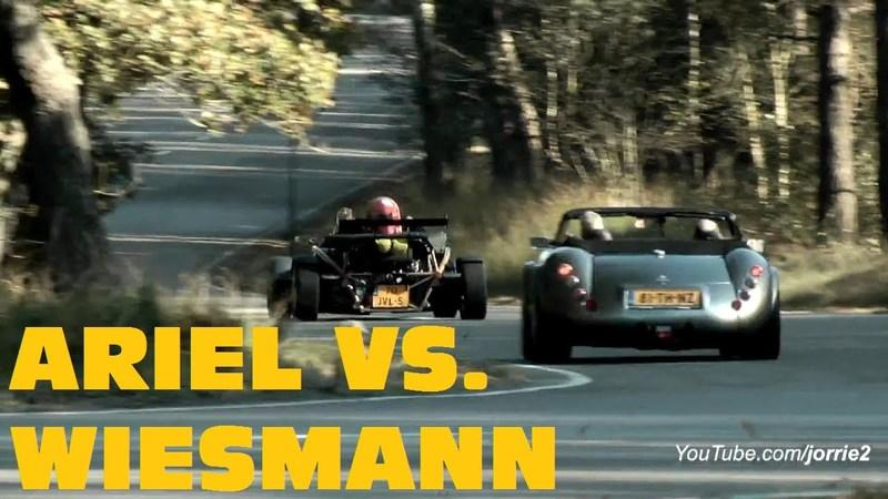 Video: Ariel Atom goes head-to-head with the Wiesmann MF3 Roadster