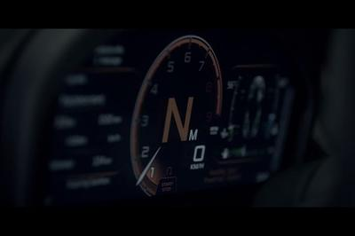 McLaren Unveils Revolutionary, Folding Instrument Cluster for Next Super Series