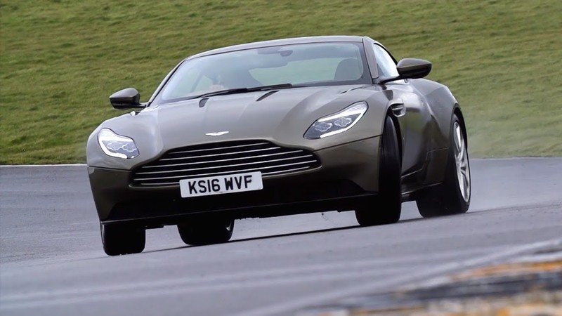 Chris Harris Reviews Aston Martin's DB11, Gets Sideways Like It's Nothing: Video