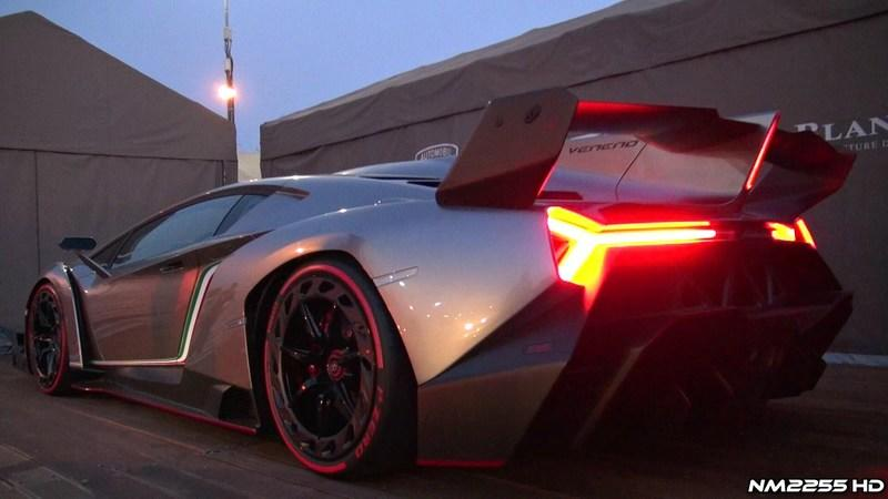 Video: Lamborghini Veneno's Engine Comes to Life