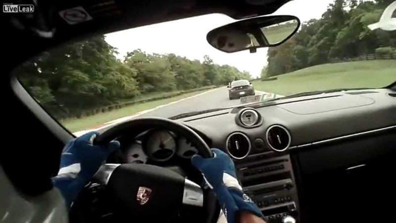 Video of the Day: Porsche Driver Absolutely Destroys a Deer at High Speed