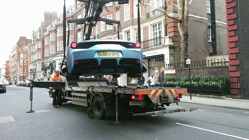 London Police Seize a Ferrari 458 Aperta Over Lack of Insurance