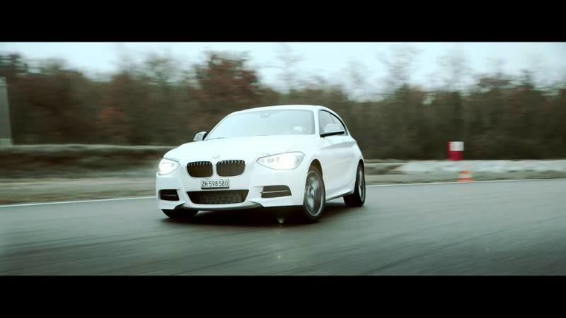 "Video: ""Jingle Bells"" Drfiting, Courtesy of the BMW M135i"