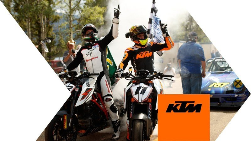 KTM Delivers One-Two Punch At Pikes Peak International Hillclimb